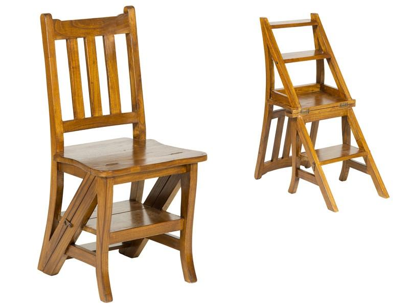 Silla escalera plegable de madera cat logo sillas comedor - Sillas de madera plegables carrefour ...