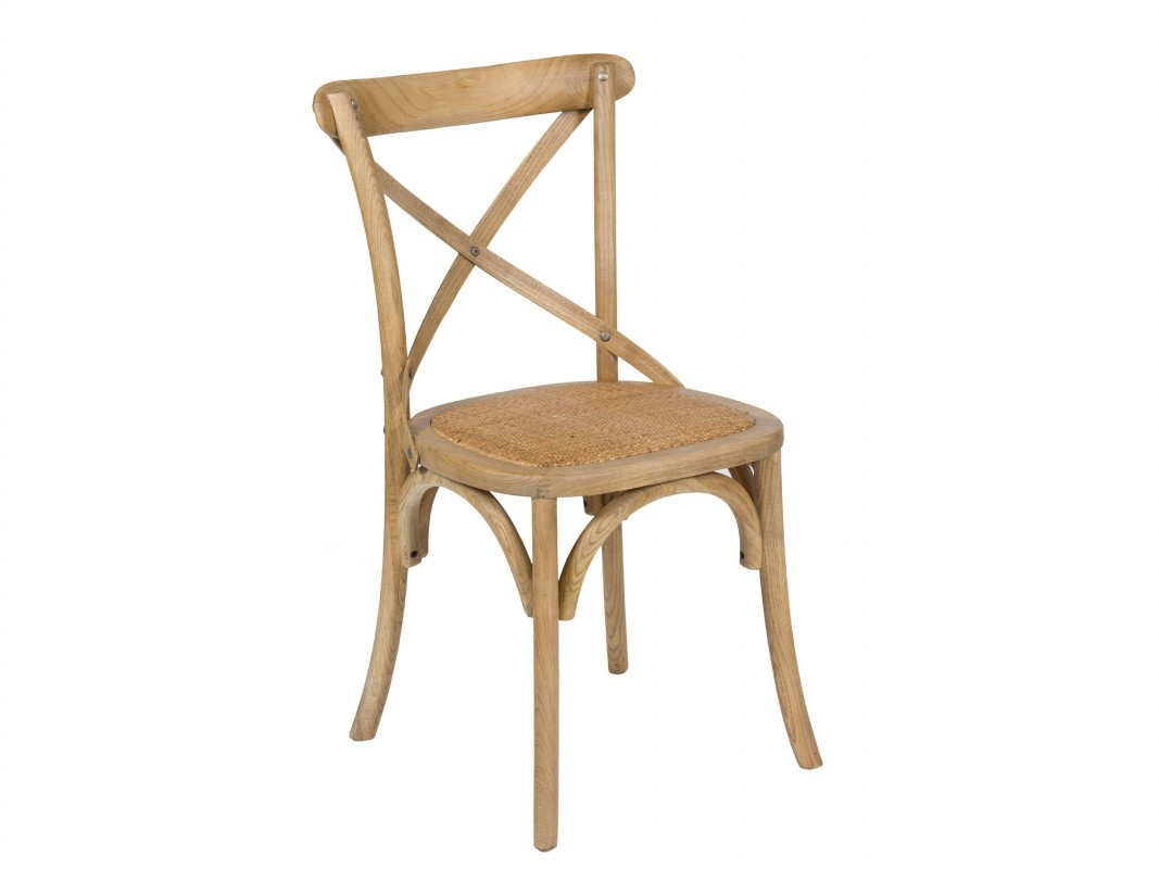 Silla vintage de madera y rattan venta de sillas online for Sillas salon vintage