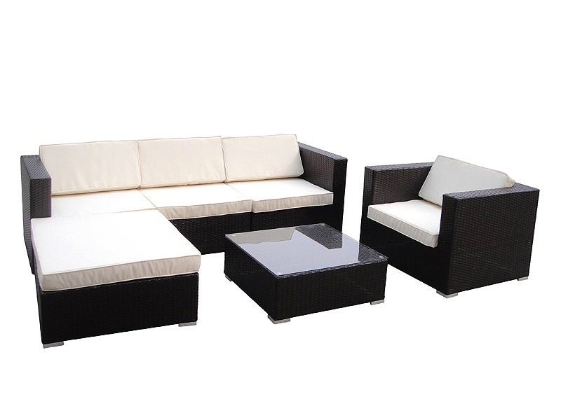 Sillones y mesa chill out jard n muebles de exterior for Sillones jardin