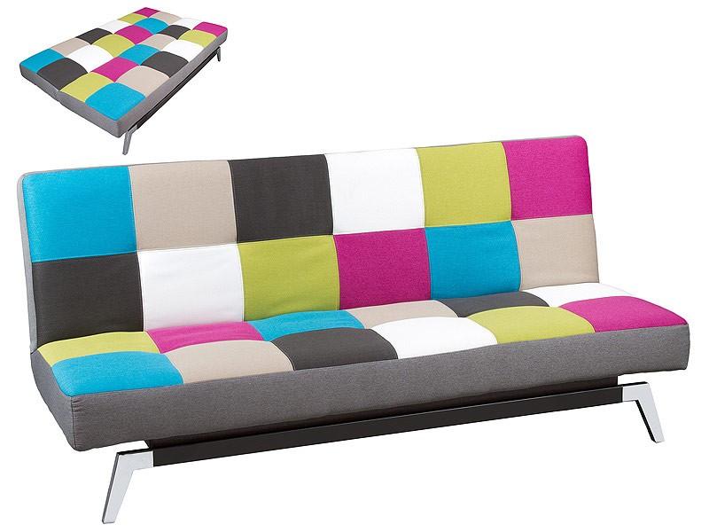 Sofa cama tama o grande de estilo popero for Sofas cama modernos y baratos