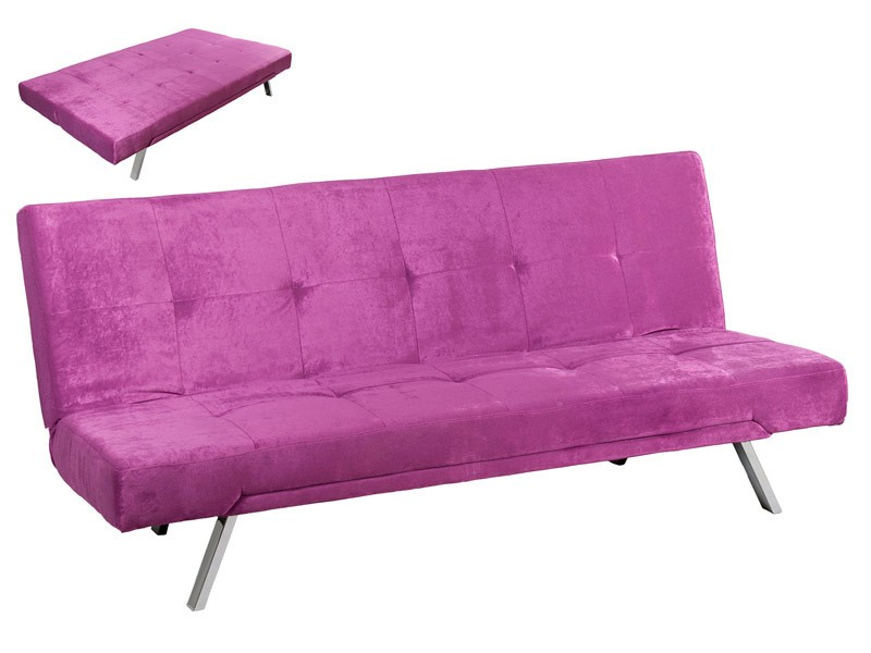 Sof cama moderno reclinable con capacidad para tres plazas for Sofa cama pequeno medidas
