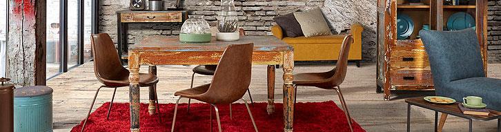 Muebles industriales mobiliario de estilo urbano para el for Muebles industriales online