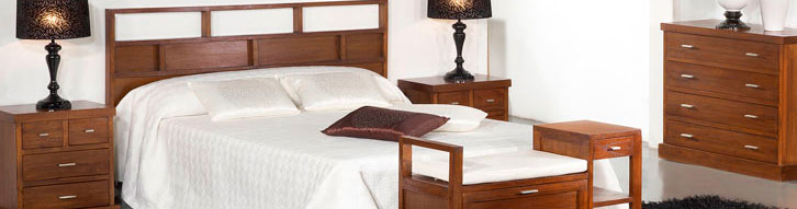 Muebles estilo colonial de madera en color nogal - Estilo colonial muebles ...