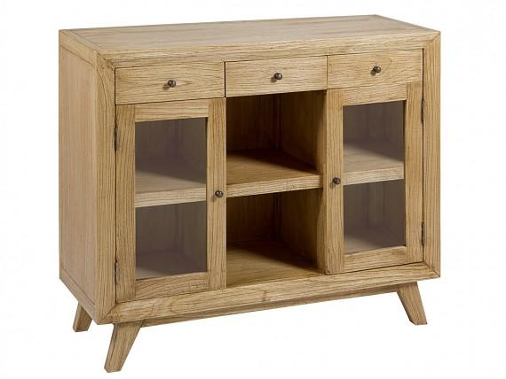 Consolas rústicas de madera para recibidor o salón-comedor