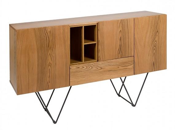 Muebles de hierro y madera de estilo industrial - Muebles de hierro y madera ...