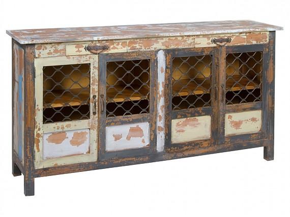 Aparadores vintage mueble aparador estilo vintage - Colores vintage para muebles ...