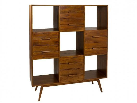Mueble tv nogal de madera de mindi estilo colonial mesa - Mueble estilo colonial ...