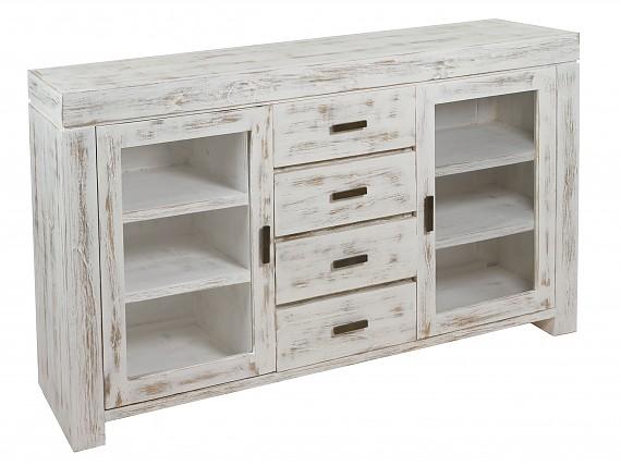 Muebles decapados en madera o metal de primera calidad - Muebles blancos vintage ...