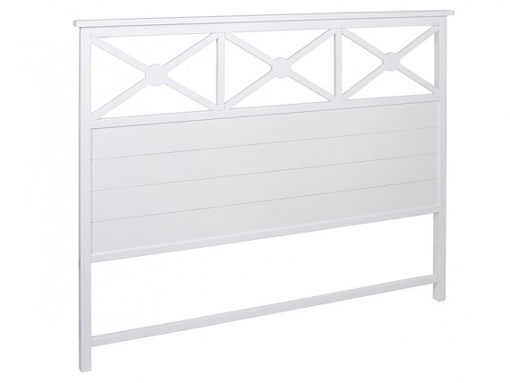 Cabeceros de cama de madera de 90 105 y 150 cm for Cabecero blanco madera