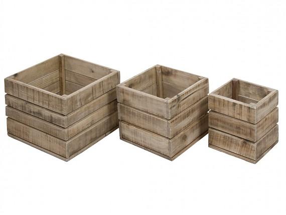 Cajas y cestos comprar cajas decorativas y para almacenaje - Cajas de madera decorativas ...
