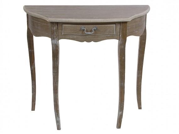 Mueble coqueta peque o de madera estilo vintage for Mueble cajones pequenos