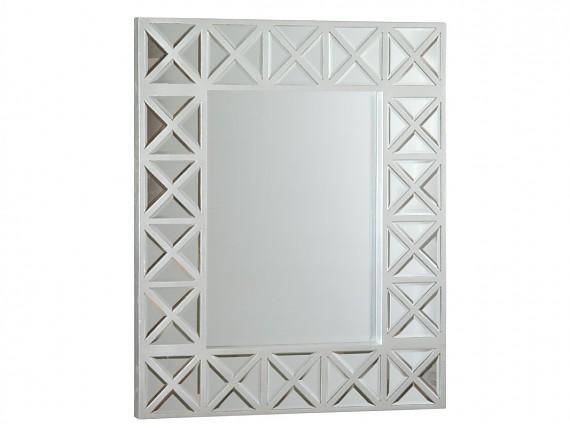 Mueble consola de espejo estilo cl sico muebles entrada for Espejo rectangular plateado
