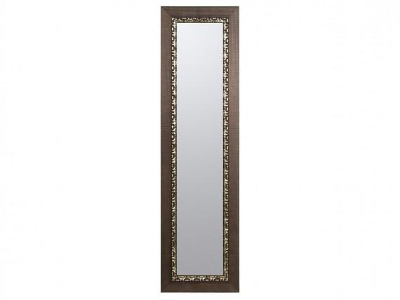 espejo marco hojas plata x cm