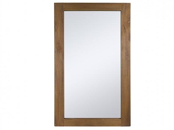 espejo colonial de madera amara x cm
