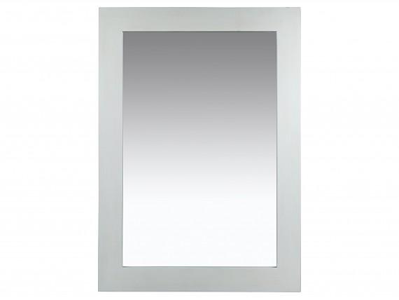 Espejos rectangulares alargados para decorar la casa for Espejo marco madera blanco