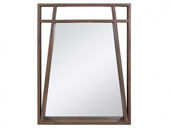 espejo de madera de mindi amara x cm