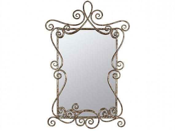 espejo rococ envejecido