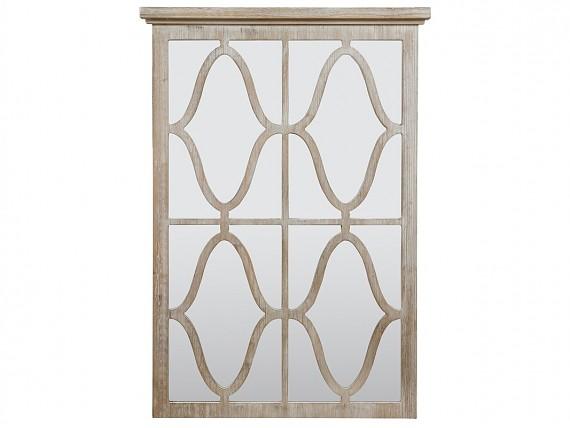 Comprar muebles recibidor y pasillo tienda online for Espejo madera envejecida