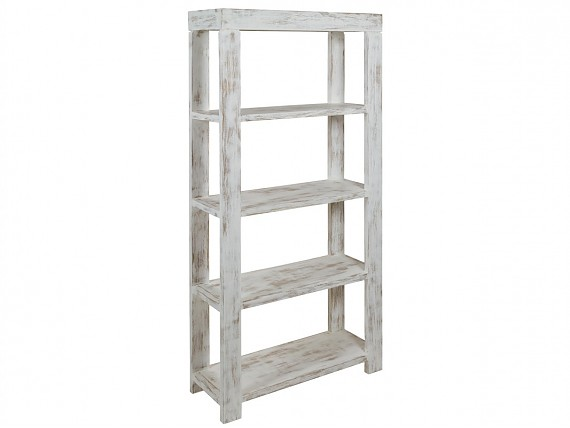Tienda de muebles y decoraci n online for Estanteria madera blanca