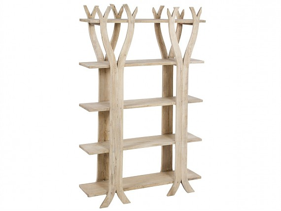 Estanterias Rusticas De Madera Envejecida Venta Online - Estanterias-rusticas-de-madera