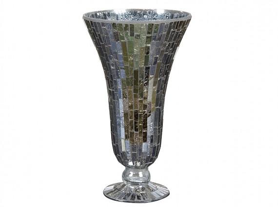 jarrn de copa mosaico cristal