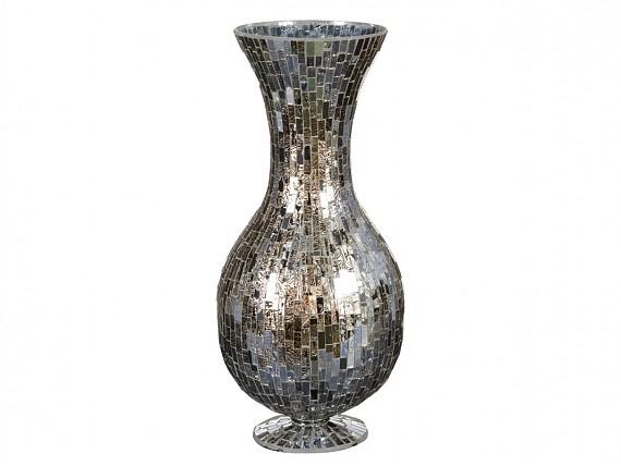 jarrn mosaico de vidrio