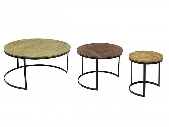 Mesas auxiliares originales - Original mesa auxiliar salón comedor