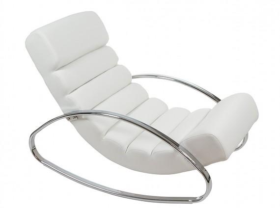 Mesa de comedor contempor nea de cristal y hierro mesas comedor - Mecedora diseno ...
