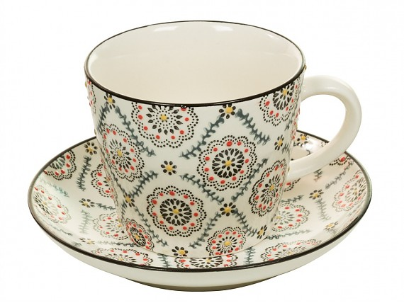 Taza/plato art & craft