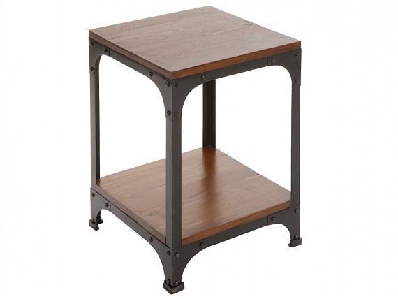 Mueble perchero recibidor con puertas y estante vintage for Mesa auxiliar comedor