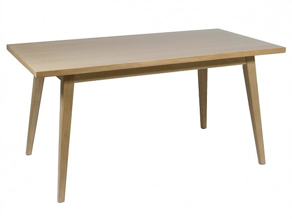 Mesas de comedor vintage de madera decapada