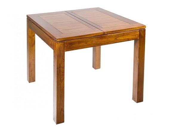 Consola y espejo de madera para recibidor - Comoda mesa extensible ...