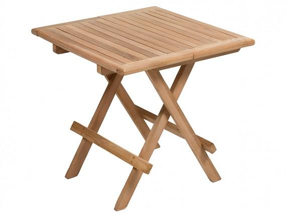 Carrito camarera de madera de teca para terraza exterior for Mesa camarera plegable