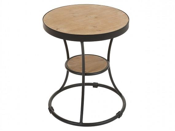 Mesa centro vintage nordica de madera con cajones y patas for Mesa telefonera