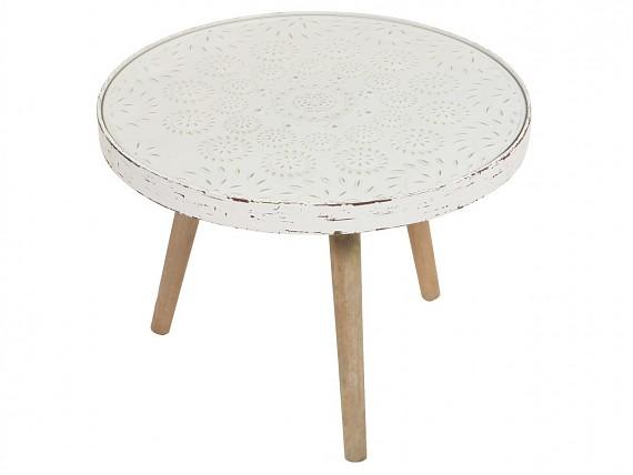 Mesas redondas vintage mesa de centro vintage redonda - Mesas cocina vintage ...