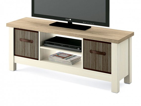 Mueble TV kit estilo nórdico 130 cm