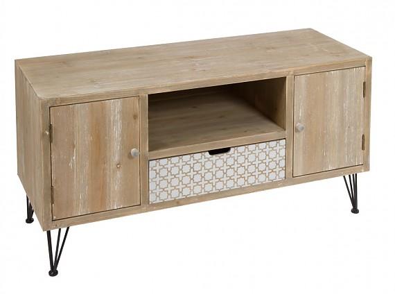 Comprar mesas tv mueble televisi n sal n for Mueble tv industrial