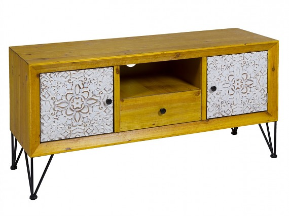 Mueble TV industrial shabby chic Nara
