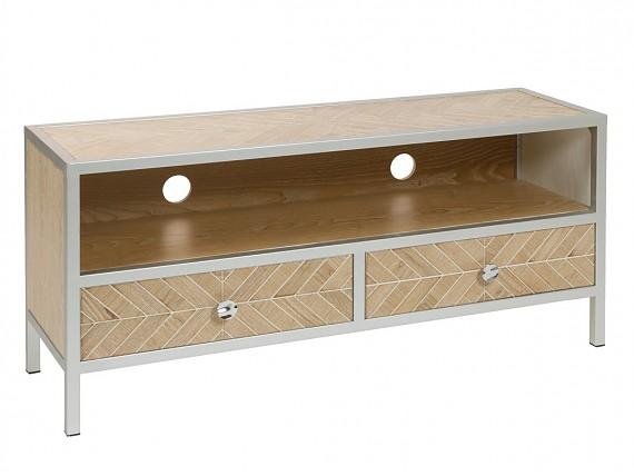 Mesas tv comprar mueble televisi n sal n for Mueble vintage industrial