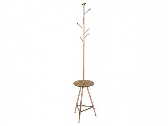 Perchero madera perchero valet de pie moderno de madera for Percheros de metal