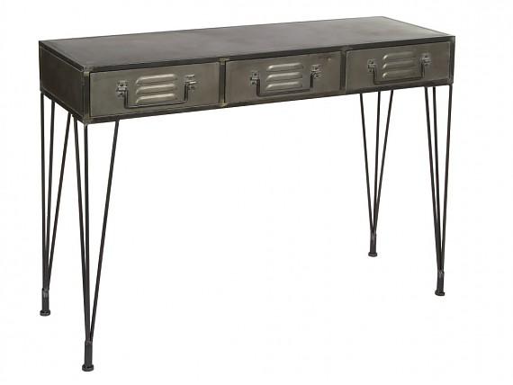 Estanter a de forja con forma de jaula estilo vintage for Como hacer una mesa estilo industrial