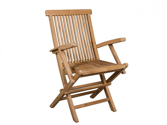 Carrito camarera de madera de teca para terraza exterior - Sillas madera jardin ...