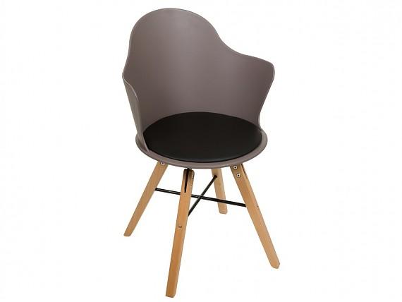 silla de diseo con patas de madera de haya - Sillones Diseo