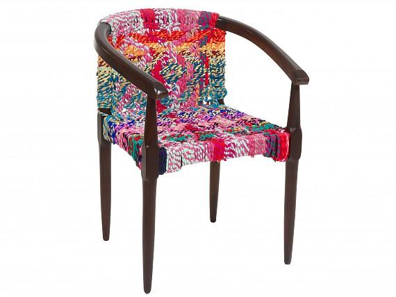 Sillas estampadas con dibujos y formas venta online for Sillas tapizadas estampadas