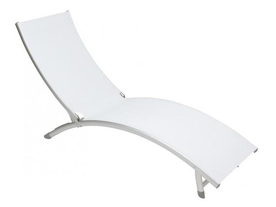 Silla tipo acapulco aluminio y rat n venta sillas online - Tumbona exterior ...