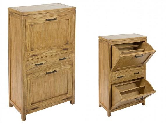 Muebles estrechos o con poco fondo para ganar espacio - Muebles zapateros estrechos ...