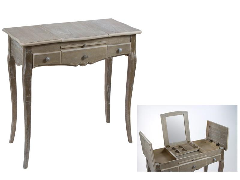 Mueble coqueta peque o de madera estilo vintage Muebles vintage bogota