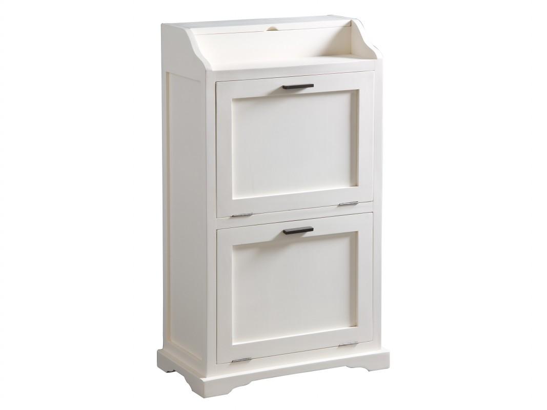 Muebles rusticos blancos dise os arquitect nicos for Mueble zapatero artesanal